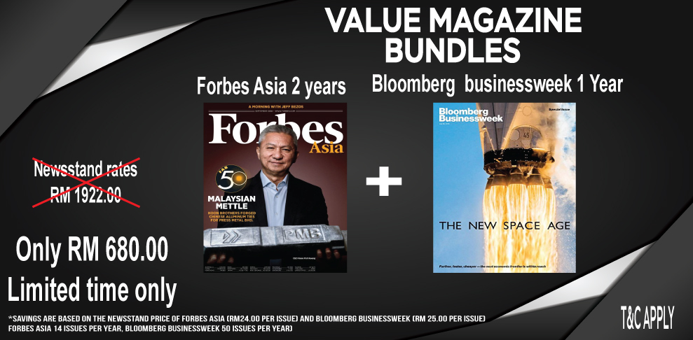 Bloomberg Businessweek + Forbes Asia