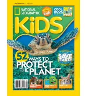 National Geographic Kids (Monthly)